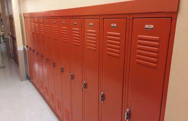 Penco Vanguard Lockers Installed State College
